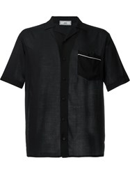 Ami Alexandre Mattiussi Shortsleeved Shirt Black