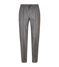 Stefano Ricci Tailored Drawstring Trousers Grey