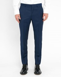 Hugo Hugo Boss Blue Wool Dress Trousers