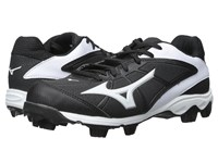 Mizuno 9 Spike Advanced Finch Franchise 6 Black White Women's Cleated Shoes