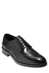 Cole Haan Harrison Grand Wingtip Black