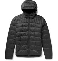 Canada Goose Brookvale Quilted Ripstop Hooded Down Jacket Dark Gray