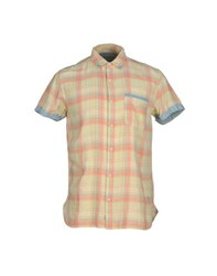 Scotch And Soda Shirts Shirts Men Light Yellow