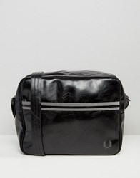 Fred Perry Classic Messenger Bag In Black Black