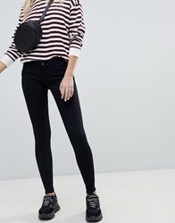 Noisy May Low Rise Skinny Jegging Black