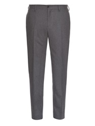 Acne Studios Stan Tailored Wool Flannel Trousers