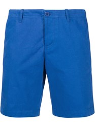 Carven Chino Shorts Blue