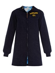 Visvim Blue Ribbon Hooded Sweatshirt Navy