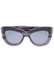 Vera Wang Cat Eye Frame Sunglasses Grey