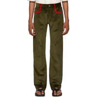 Missoni Green Corduroy Trousers