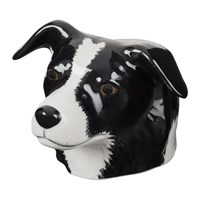 Quail Ceramics Border Collie Egg Cup