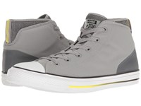 Converse Chuck Taylor All Star Syde Street Summer Mid Dolphin Black Fresh Yellow Men's Classic Shoes Gray