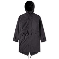 Mhl By Margaret Howell Mhl. Fishtail Parka Blue