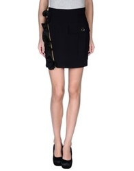 Emanuel Ungaro Mini Skirts Black