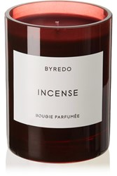 Byredo Incense Scented Candle Red
