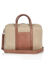 Brunello Cucinelli Brushed Leather Holdall Bag