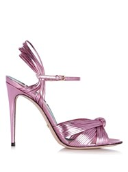 Gucci Allie Leather Sandals Light Pink