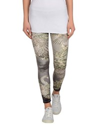 Via Delle Rose Trousers Leggings Women Military Green