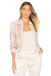 Needle And Thread Iridescent Cinder Bomber Pink