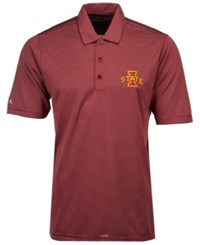 Antigua Iowa State Cyclones Quest Polo Cardinal Red White