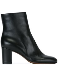 L'autre Chose Zip Up Ankle Boots Black