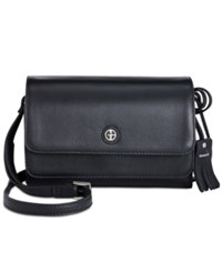 Giani Bernini Kilty Flap Crossbody Only At Macy's Black