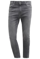Pier One Slim Fit Jeans Grey Denim