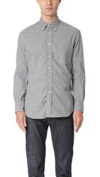 Gitman Brothers Vintage Long Sleeve Flannel Shirt Grey