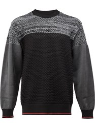 08Sircus Tonal Jumper Black