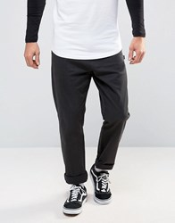 Stussy Chino In Straight Fit Black