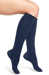 Nordstrom Women's Compression Trouser Socks Navy