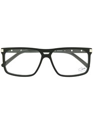 Cazal Square Frame Glasses Black