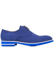 B Store 'Dario' Lace Up Shoes Blue