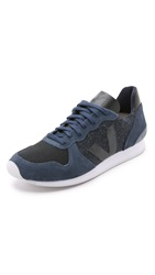Veja Holiday Flannel Sneakers Black Nautico