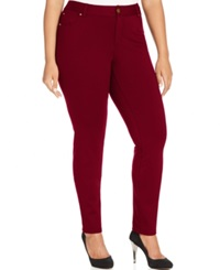 Inc International Concepts Plus Size Skinny Ponte Pants Only At Macy's Port