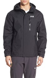Men's Helly Hansen 'Vancouver' Packable Rain Jacket Black