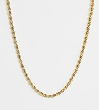 Regal Rose Gold Plated Twisted Necklace