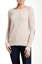 Acrobat Elbow Patch Pullover Pink