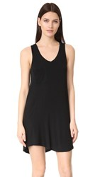 Z Supply The Pocket Racer Tank Dress Black