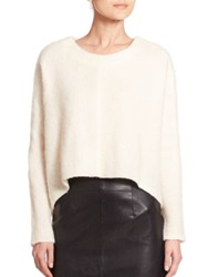 Nicholas Brushed Wool Oversized Sweater Ivory