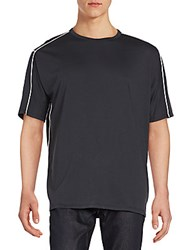 3.1 Phillip Lim Dolman Sleeve Cotton Tee Soft Black