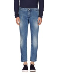 Entre Amis Denim Denim Trousers Men Blue