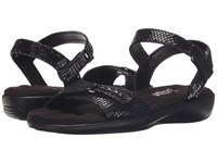 Walking Cradles Sky 3 Black Snake Print Women's Sandals