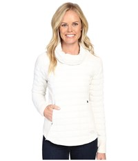 The North Face Ma Thermoball Pullover Vaporous Grey Women's Long Sleeve Pullover White