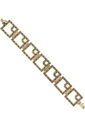 Kelly Wearstler Mansfield Gold Plated Crystal Bracelet