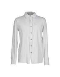 Spina Shirts Shirts Men Light Grey