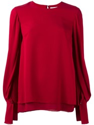 3.1 Phillip Lim Layered Hem Blouse