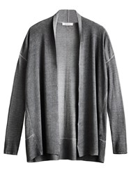 Sandwich Edge To Edge Cardigan Grey
