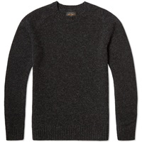 Beams Plus Crew Knit Charcoal Grey
