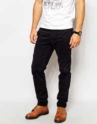 Replay Chinos Slim Fit Washed Gabardine Blue